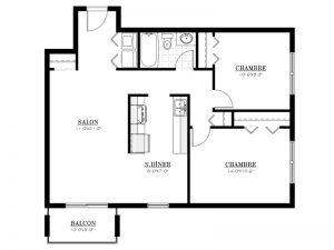 Appartement à louer - Complexe Lunik - 4½
