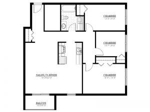 Appartement à louer - Complexe Lunik - 5½