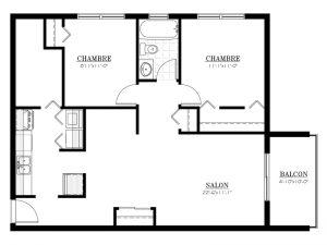 Appartement à louer - Les Terrasses McGregor - 4½