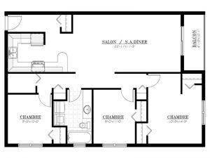 Appartement à louer - Les Terrasses McGregor - 5½