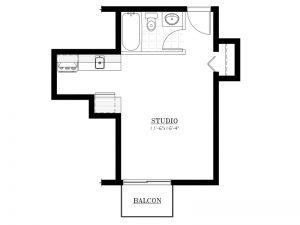 Appartement à louer - Le 620 - 1½