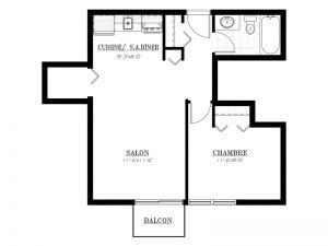 Appartement à louer - Le 620 - 3½