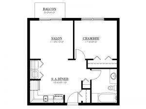 Appartement à louer - Le 655 - 3½