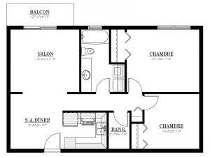 Appartement à louer - Le 655 - 4½